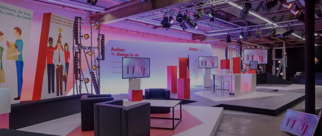 Plateau Auchan Retail Le Live