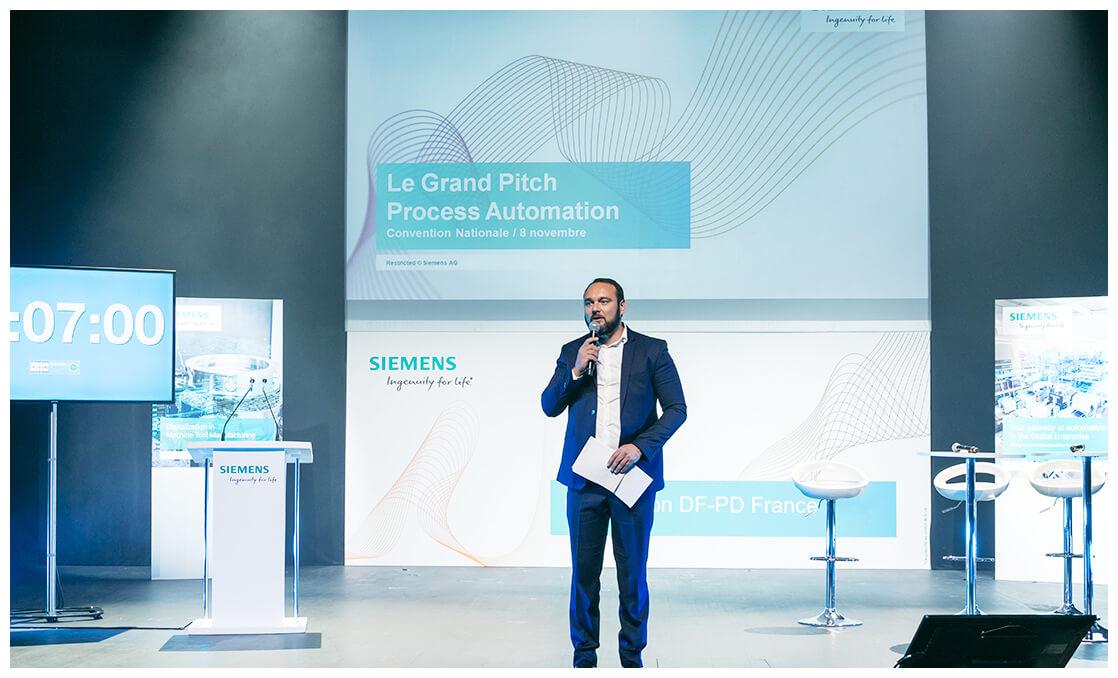 Talk pendant la convention annuelle de Siemens