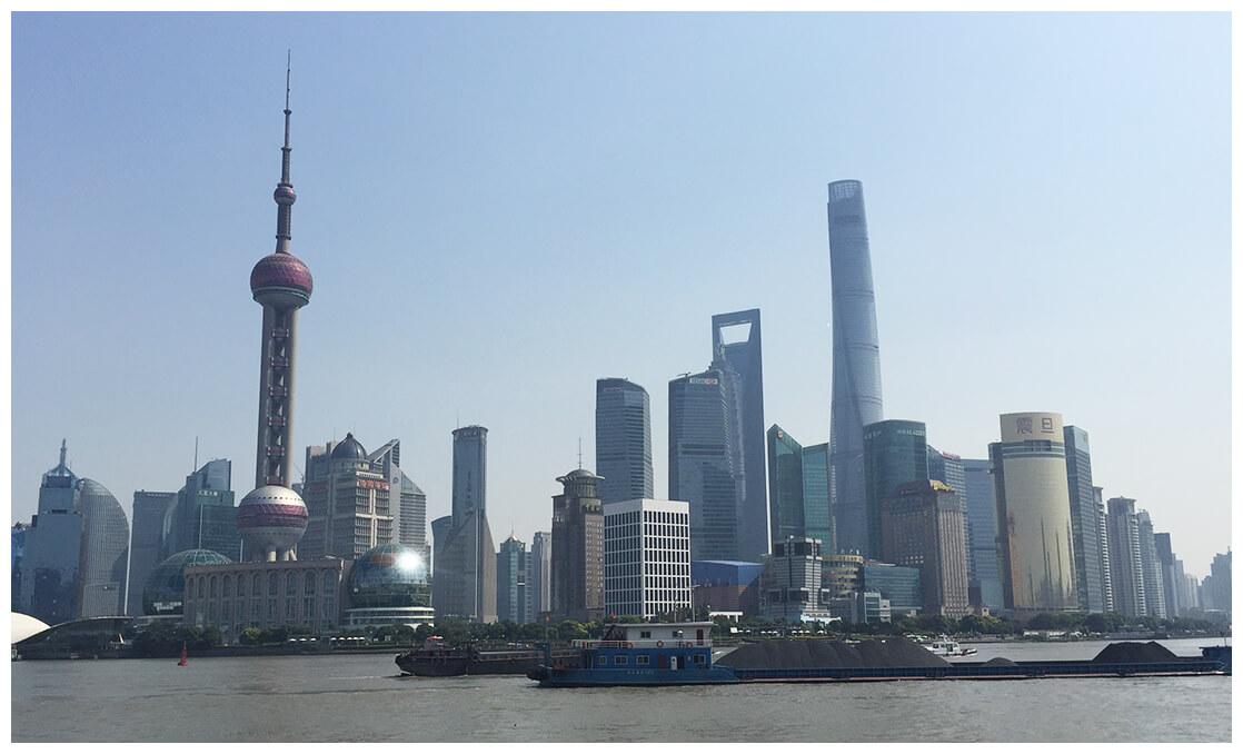 Vue sur Shanghai
