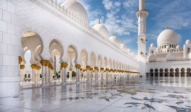 Abu Dhabi - Reward's travel for a consulting firm