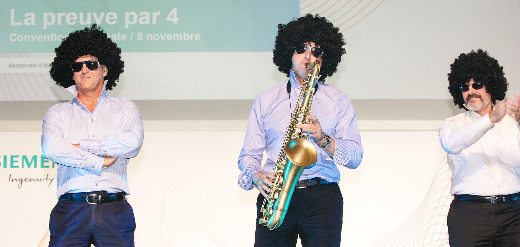 Aperçu de la convention annuelle de Siemens
