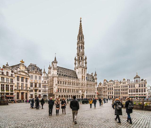CCI Paris </br> Accompagnement de 900 personnes à Bruxelles