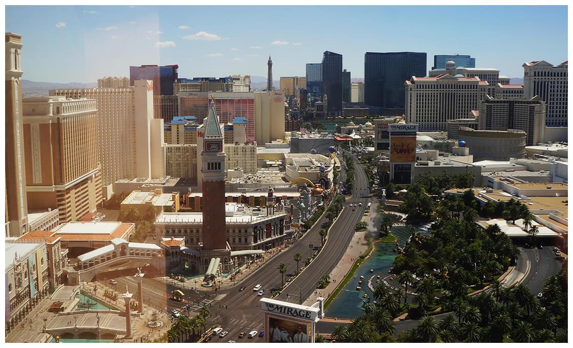 Las Vegas street view