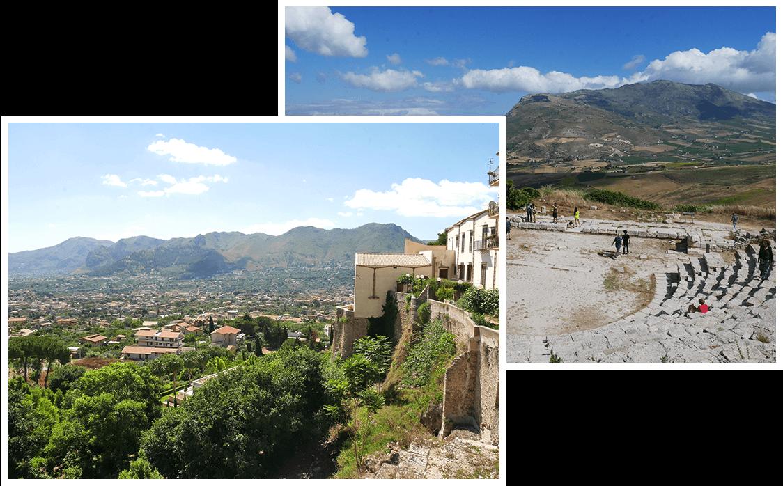 Paysages siciliens