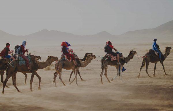 Voyage incentive dans le désert