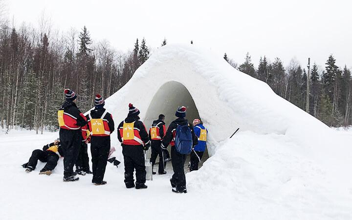 Igloo en Laponie