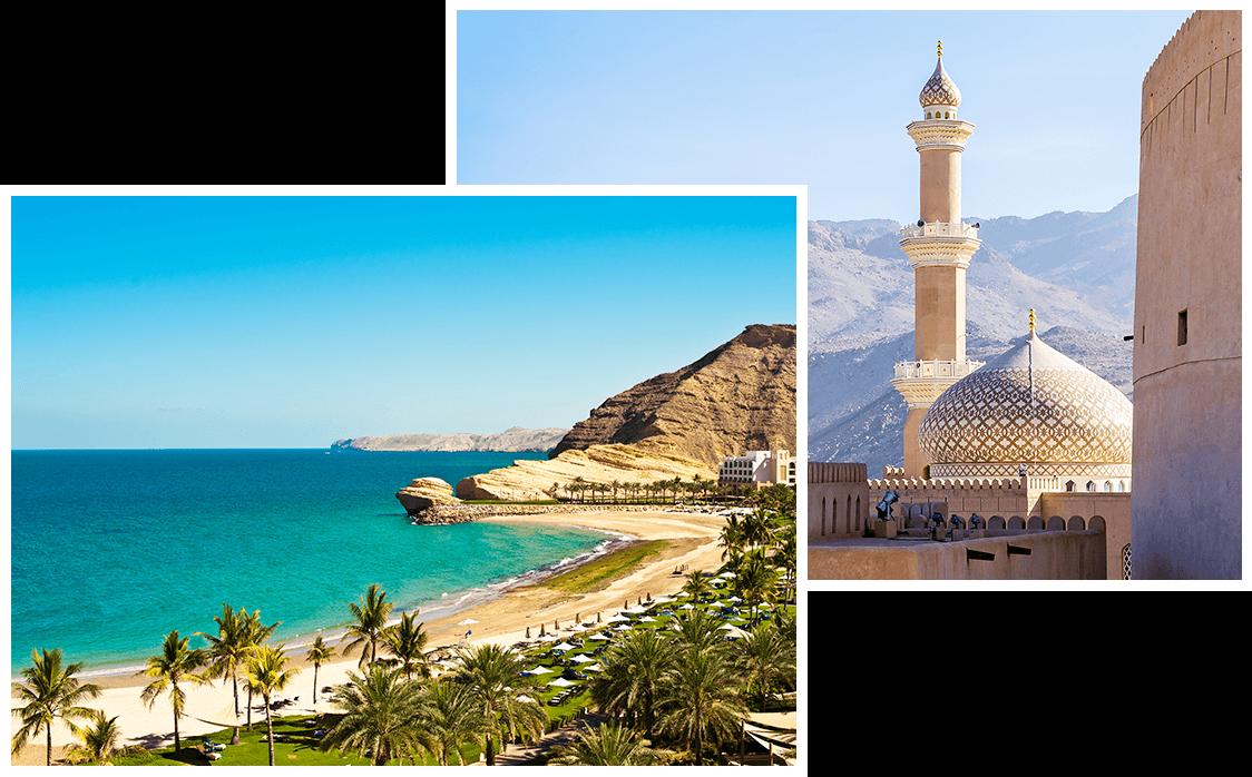 Paysages omanais