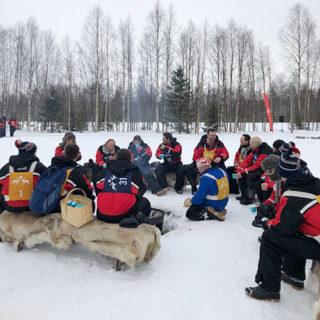 Laponie - l'heure du repas