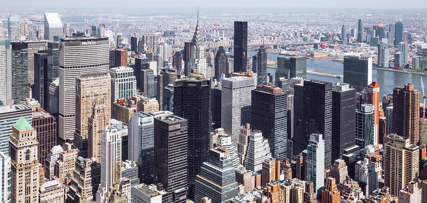 Vue sur New-York - Voyage d'étude