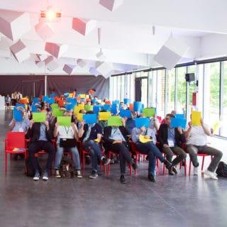 team building animation provins