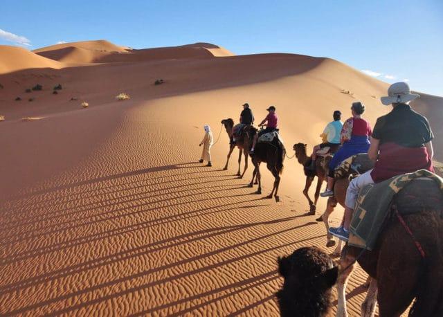balade dans le desert