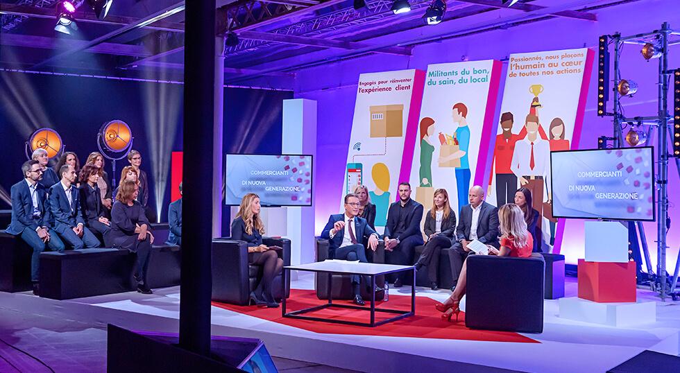 Show TV pour Auchan Retail, organisé par Wagram & Vous