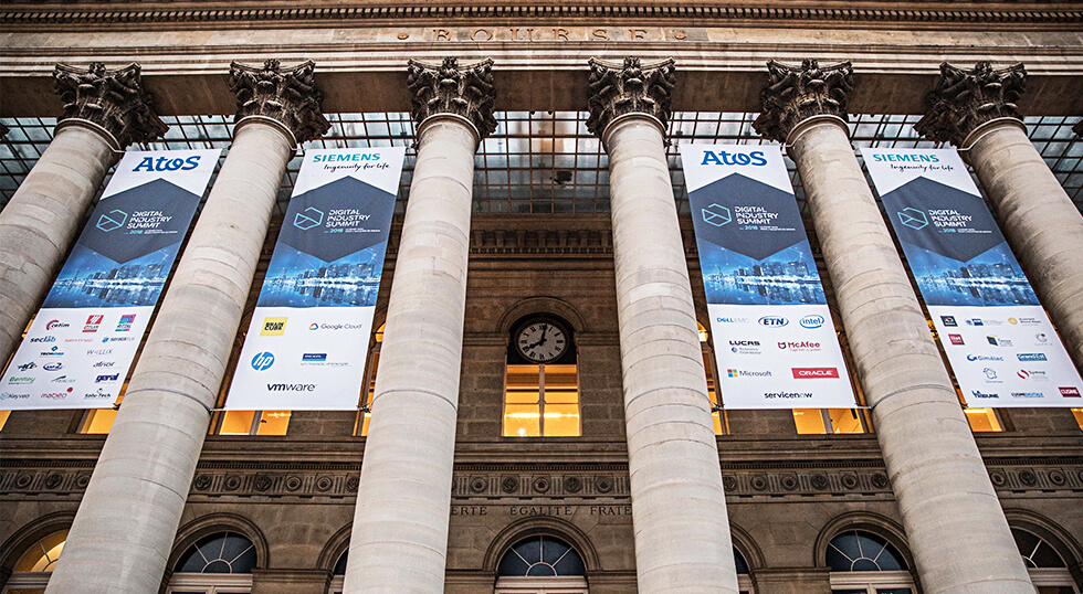 Evenement Siemens au Palais Brongniart à Paris