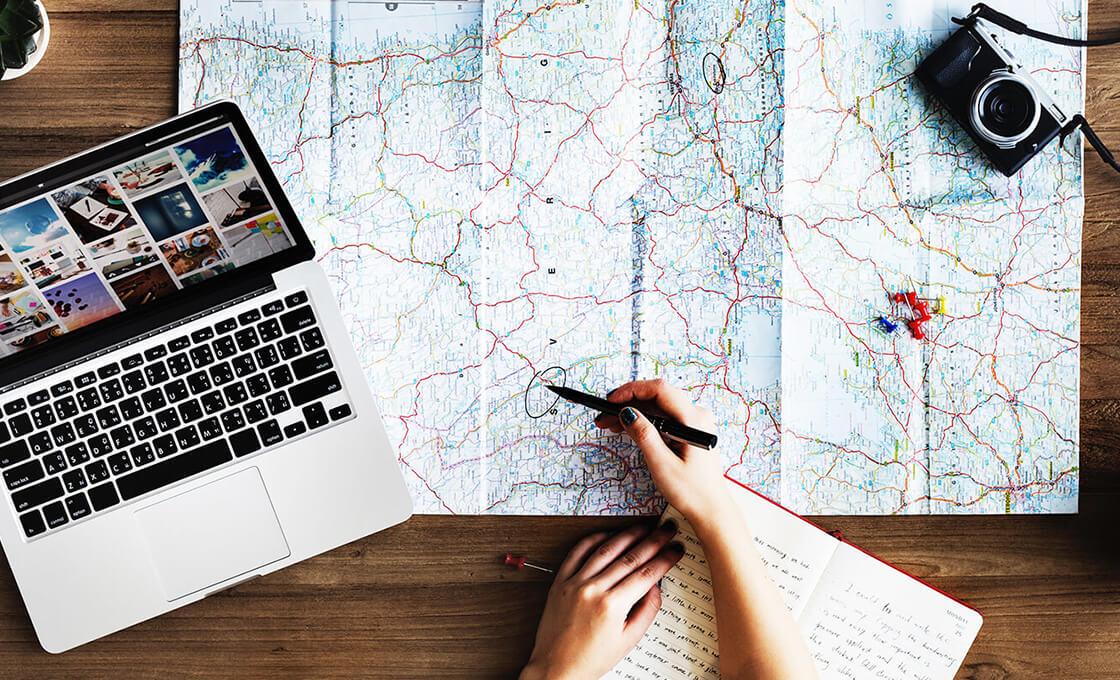 Choix des destinations