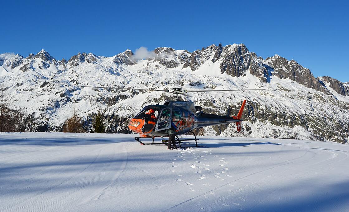 Activité incentive hélicoptère