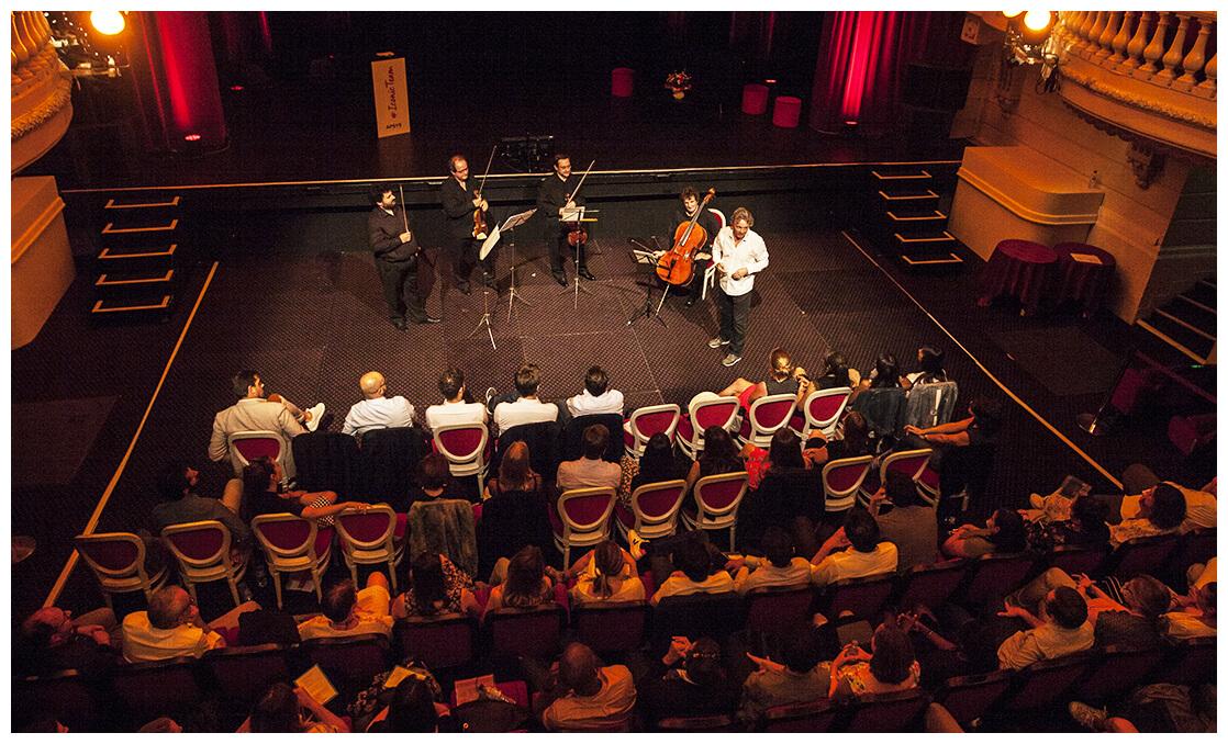 Convention d'entreprise au théâtre de Deauville