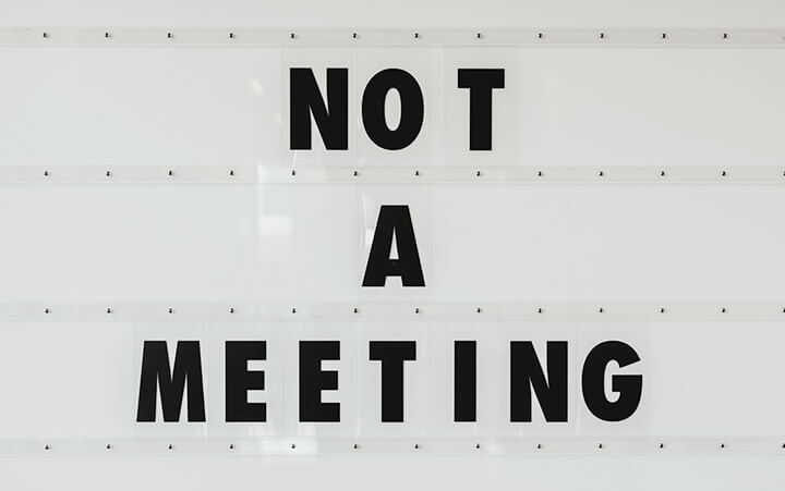 This is not a meeting