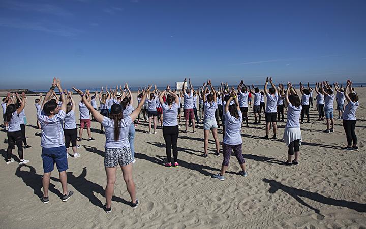 Activité Team building sur la plage de Deauville