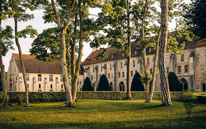 Vue de l'Abbaye de Royaumont