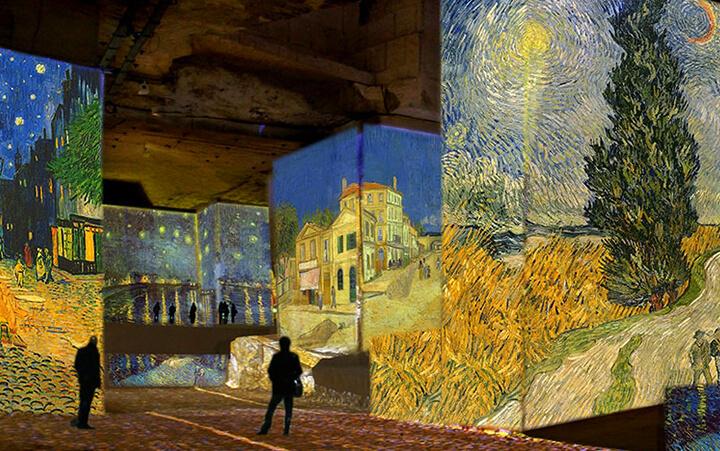 Exposition Van Gogh à la Carrière des lumieres