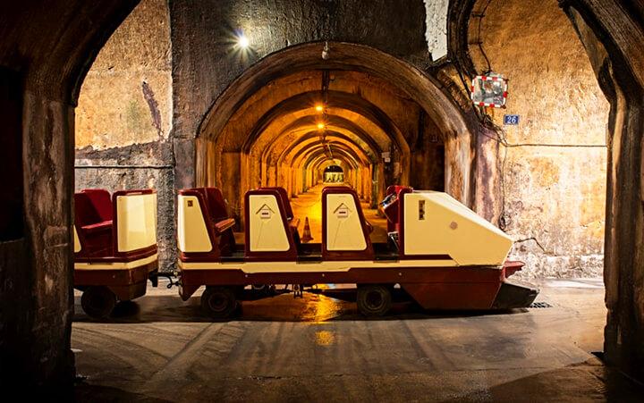 La surprenante visite des Caves Mercier lors de votre séminaire