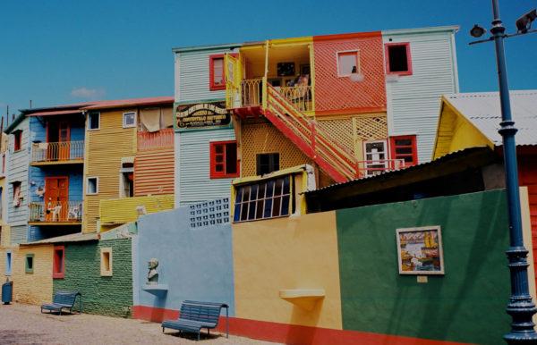 Maisons colorées de Buenos Aires