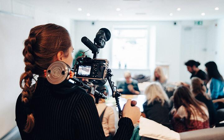Filmer une conférence ou un séminaire